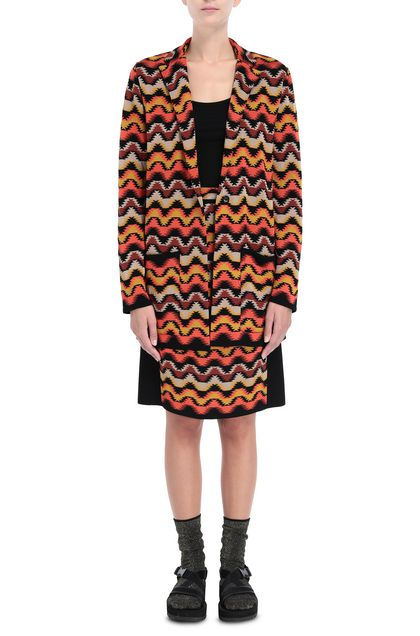 M MISSONI Jacket Orange Woman - Back