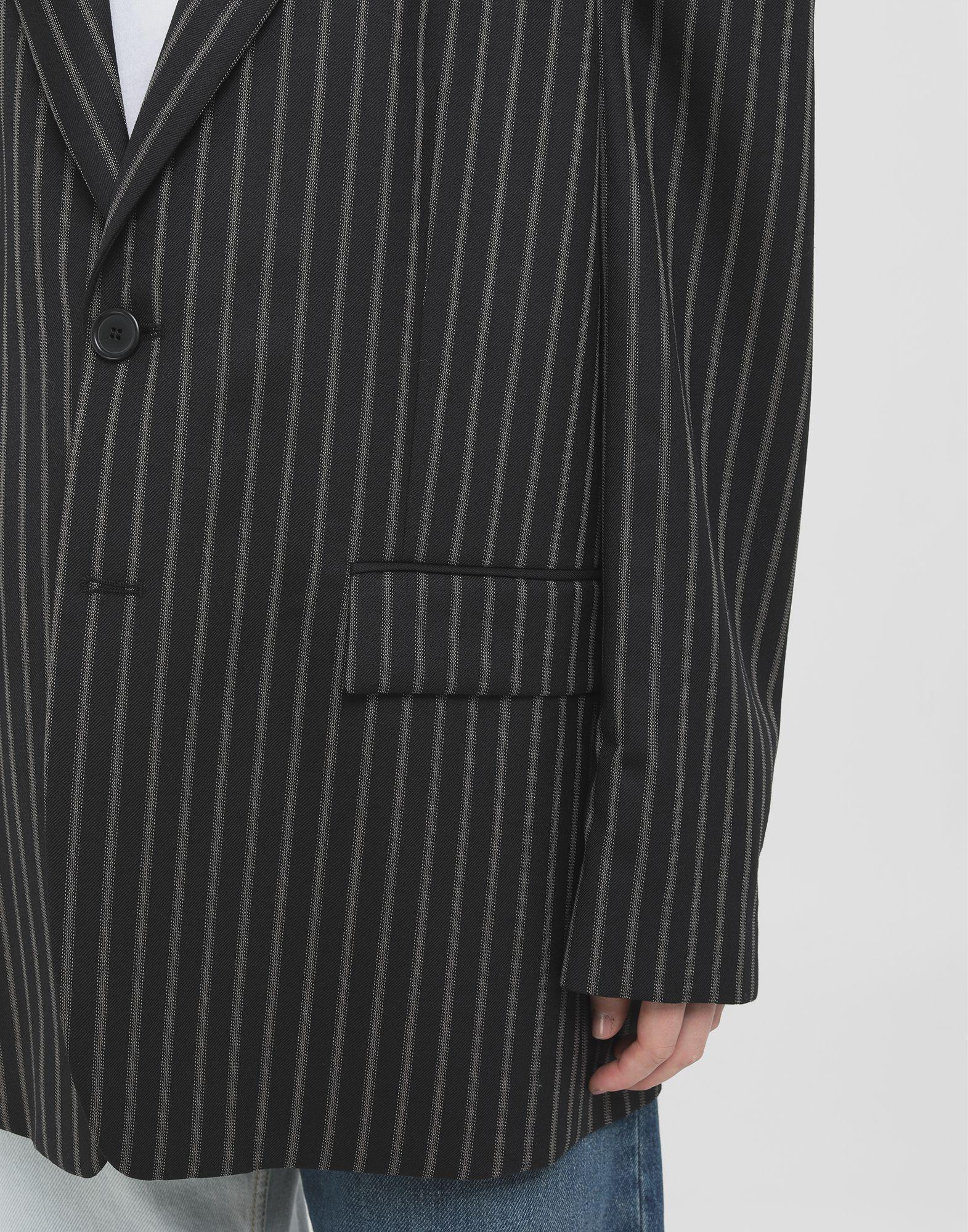 MAISON MARGIELA Oversized striped blazer Blazer Woman a