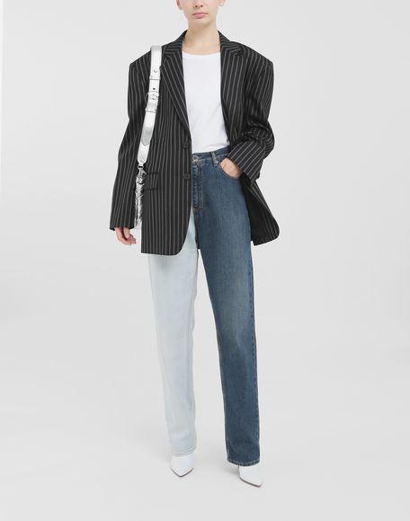 MAISON MARGIELA Oversized striped blazer Blazer Woman d