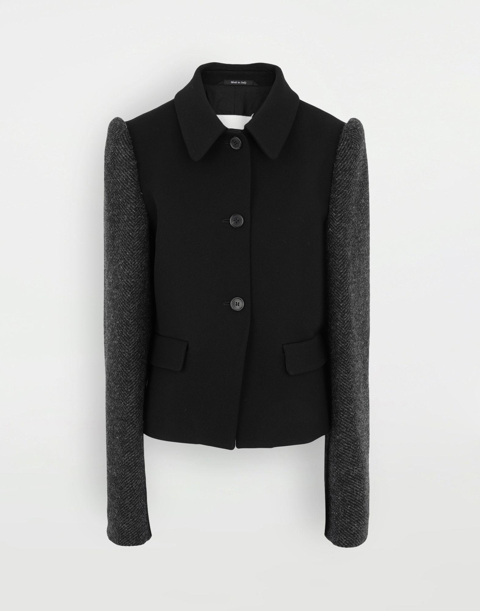 MAISON MARGIELA Bi-material jacket Blazer Woman f