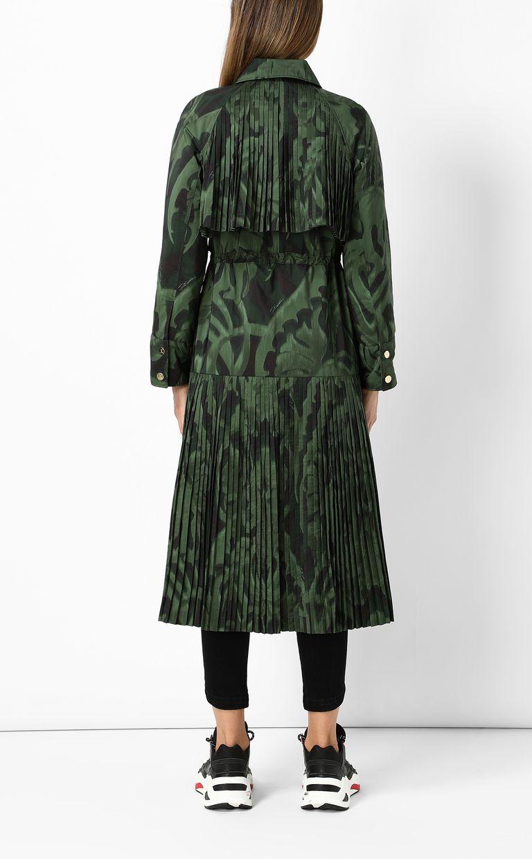 """JUST CAVALLI """"Jungle-Deco'"""" print trench coat Raincoat Woman a"""