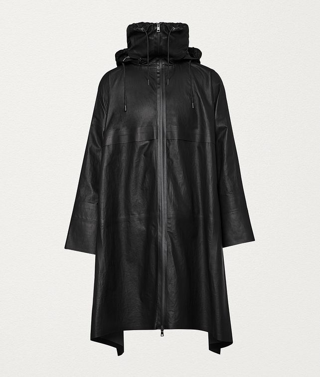 BOTTEGA VENETA CAPE IN LEATHER Outerwear and Jacket Man fp