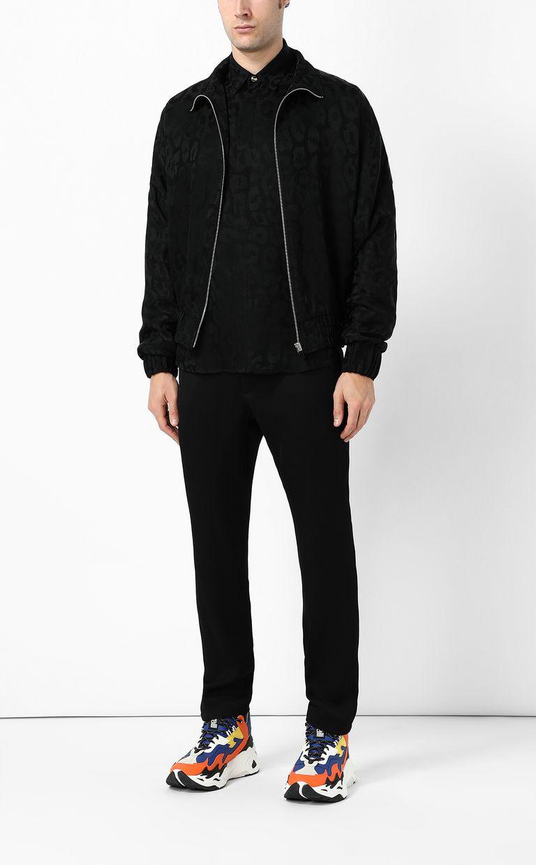 JUST CAVALLI Sporty Leo Jacquard jacket Jacket Man d