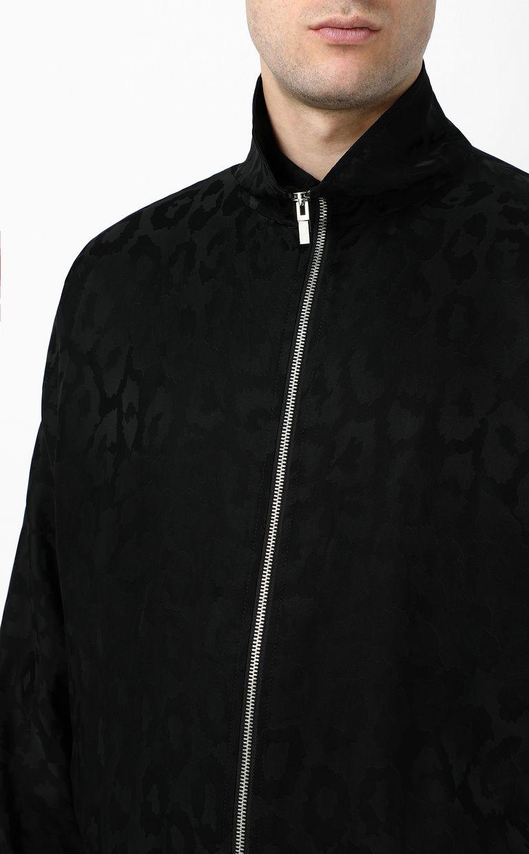 JUST CAVALLI Sporty Leo Jacquard jacket Jacket Man e