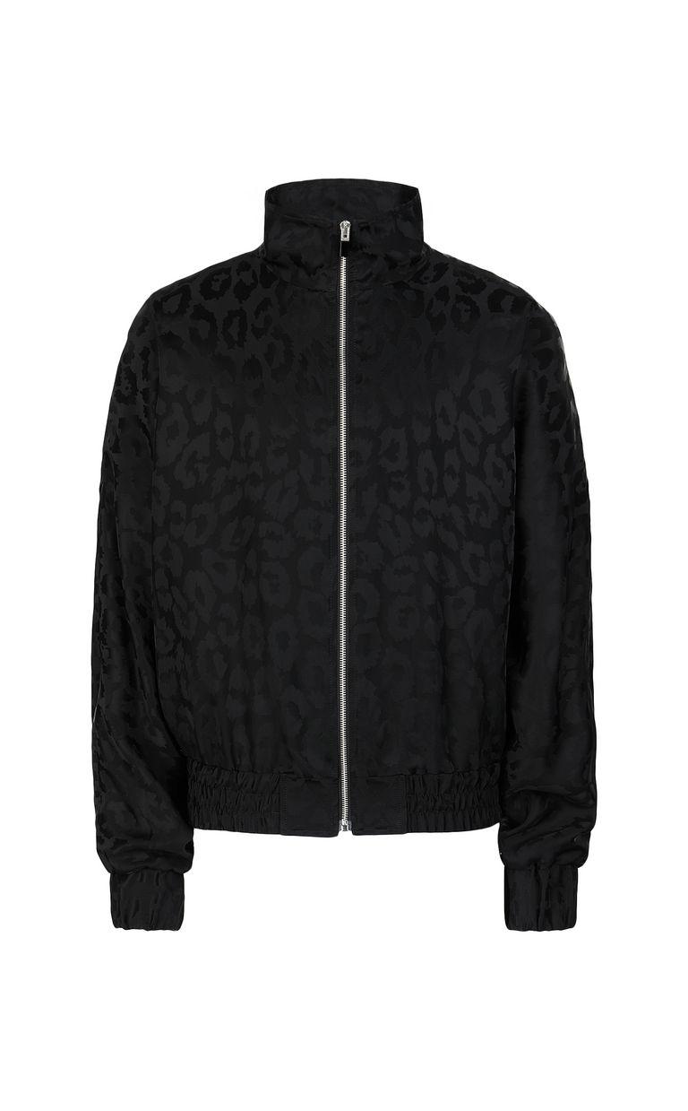 JUST CAVALLI Sporty Leo Jacquard jacket Jacket Man f