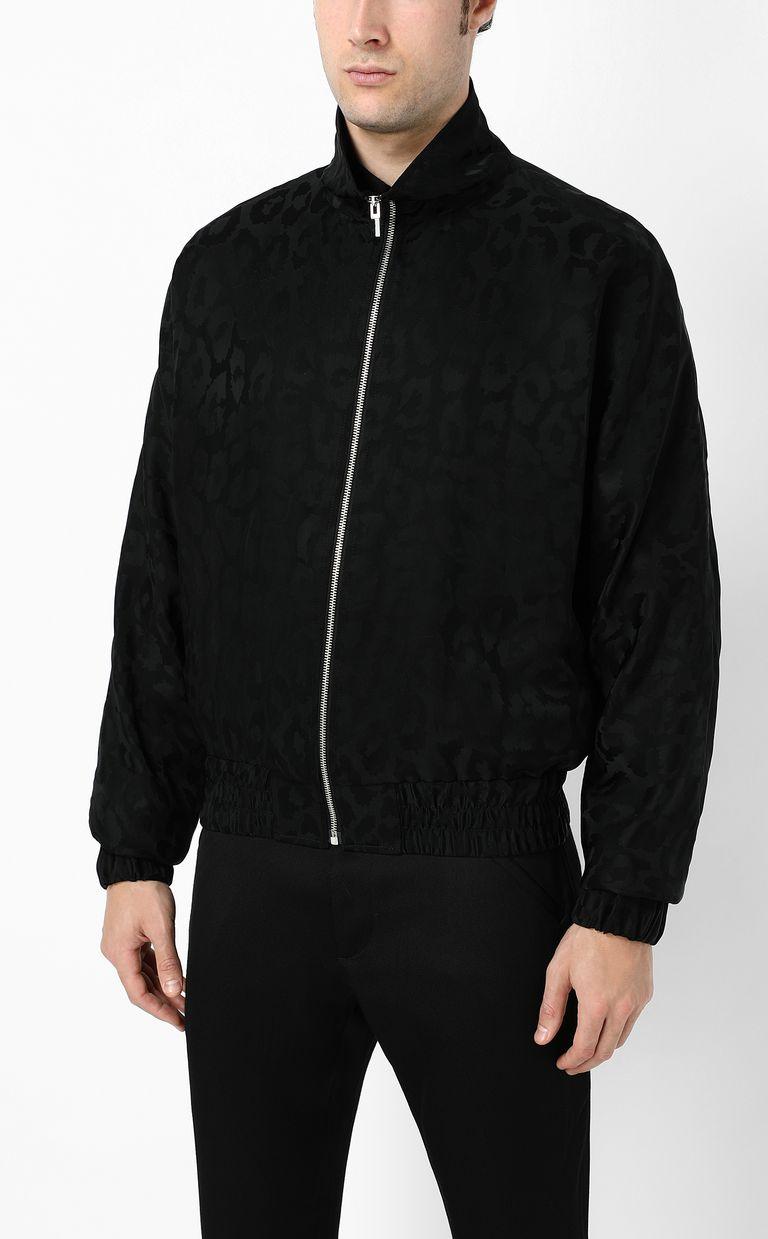 JUST CAVALLI Sporty Leo Jacquard jacket Jacket Man r