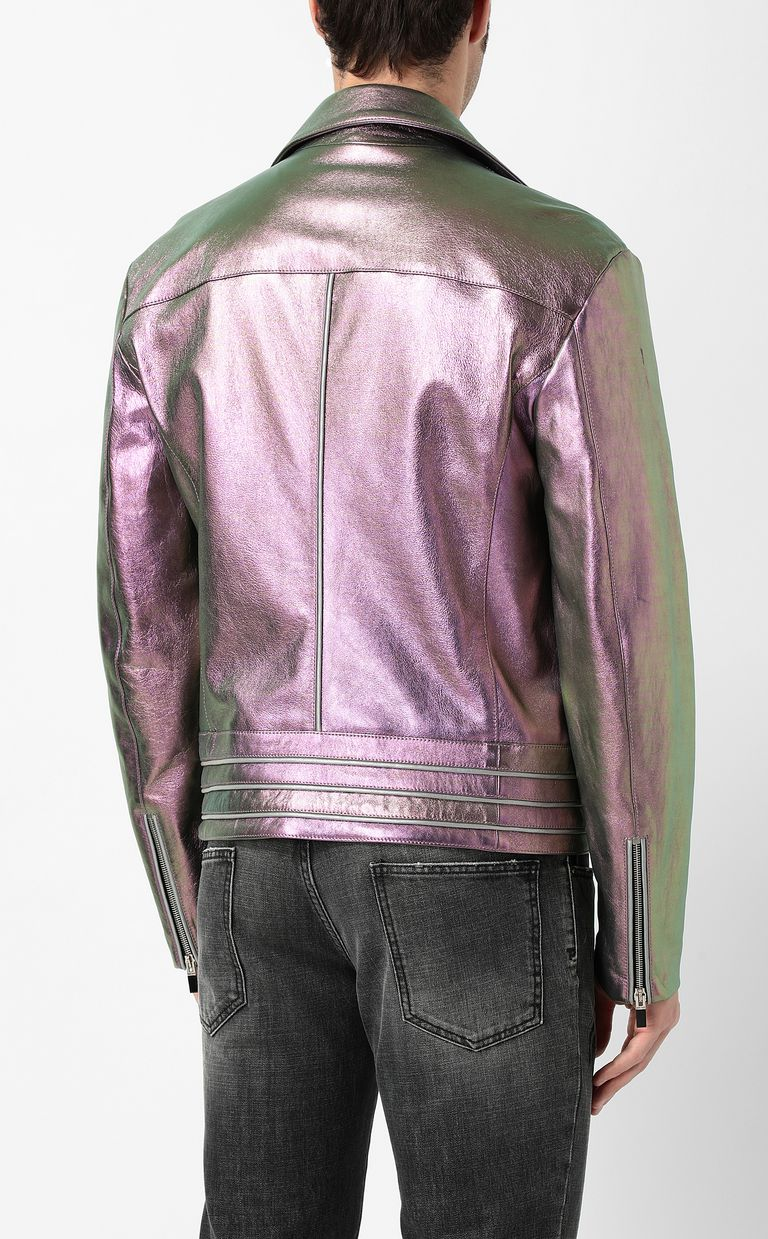 JUST CAVALLI Leather jacket Jacket Man a