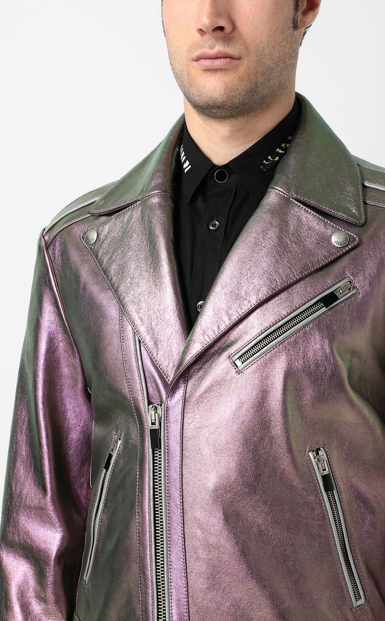 JUST CAVALLI Leather jacket Jacket Man e