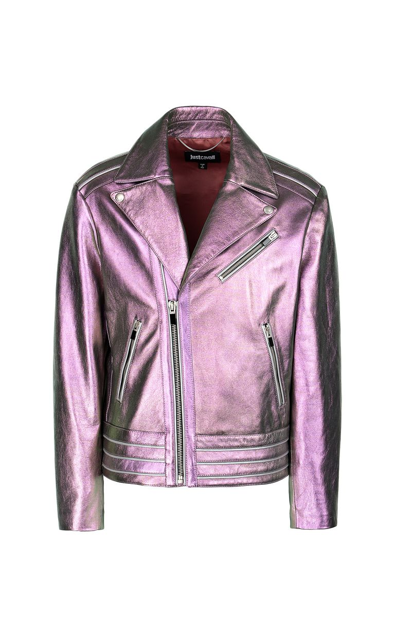JUST CAVALLI Leather jacket Jacket Man f