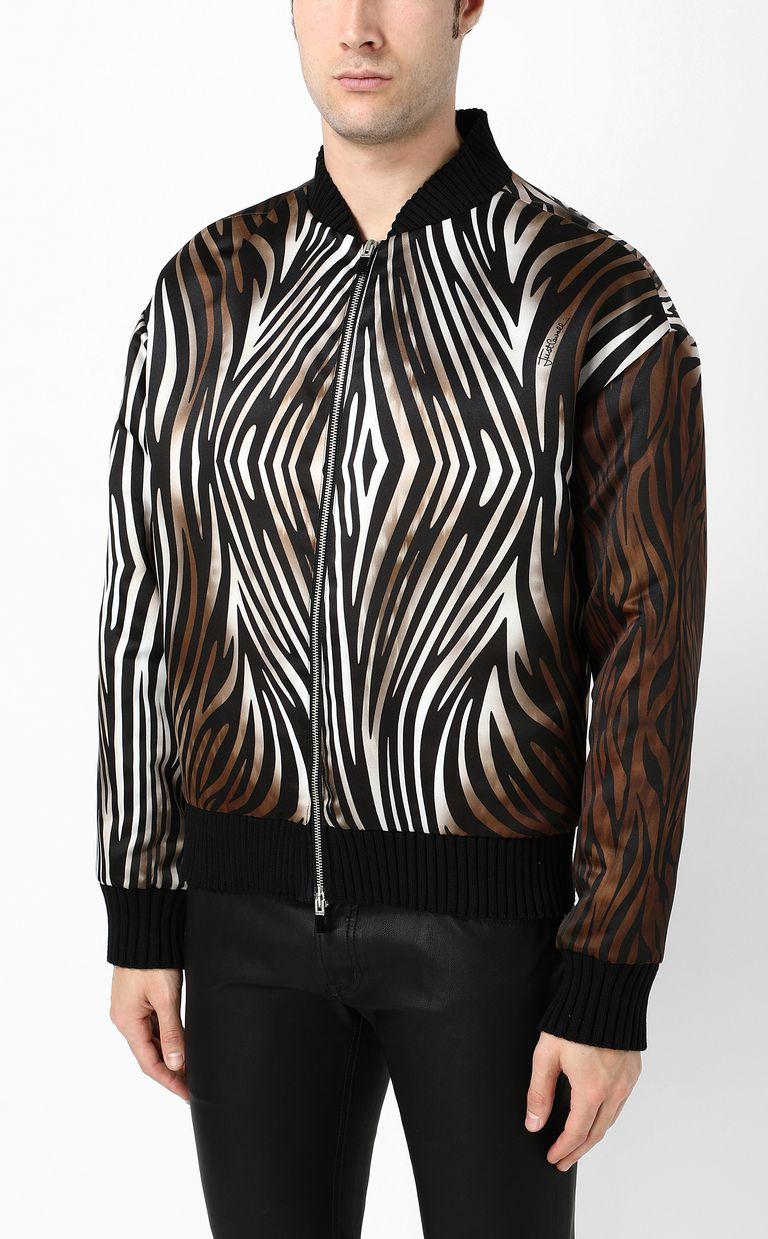 "JUST CAVALLI ""Symbiosis""-print bomber jacket Jacket Man r"