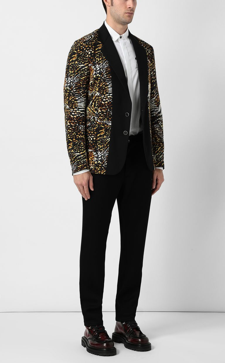 "JUST CAVALLI Jacket with ""Duality"" pattern Blazer Man d"