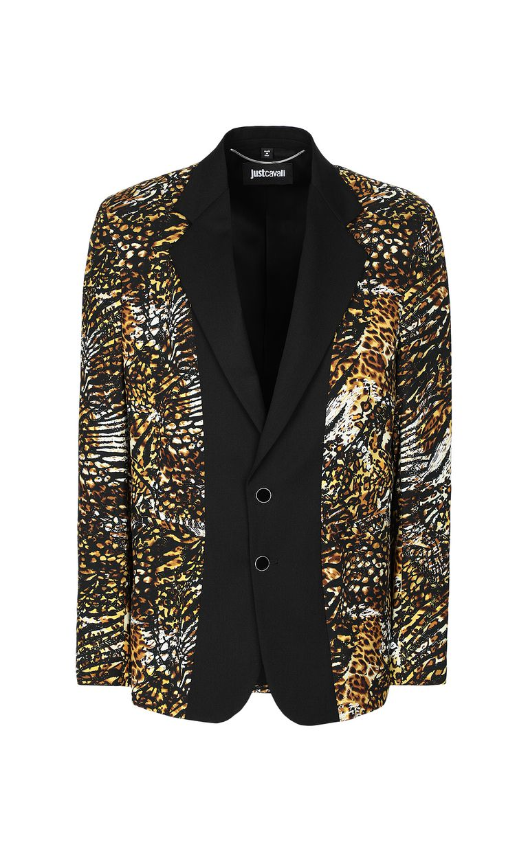 "JUST CAVALLI Jacket with ""Duality"" pattern Blazer Man f"