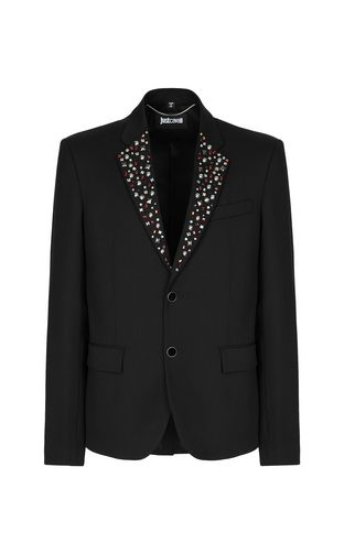 JUST CAVALLI Blazer Man Jacket with zips f