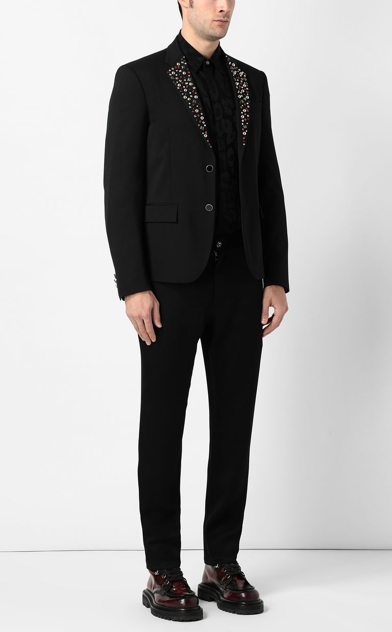 JUST CAVALLI Jacket with crystal detailing Blazer Man d
