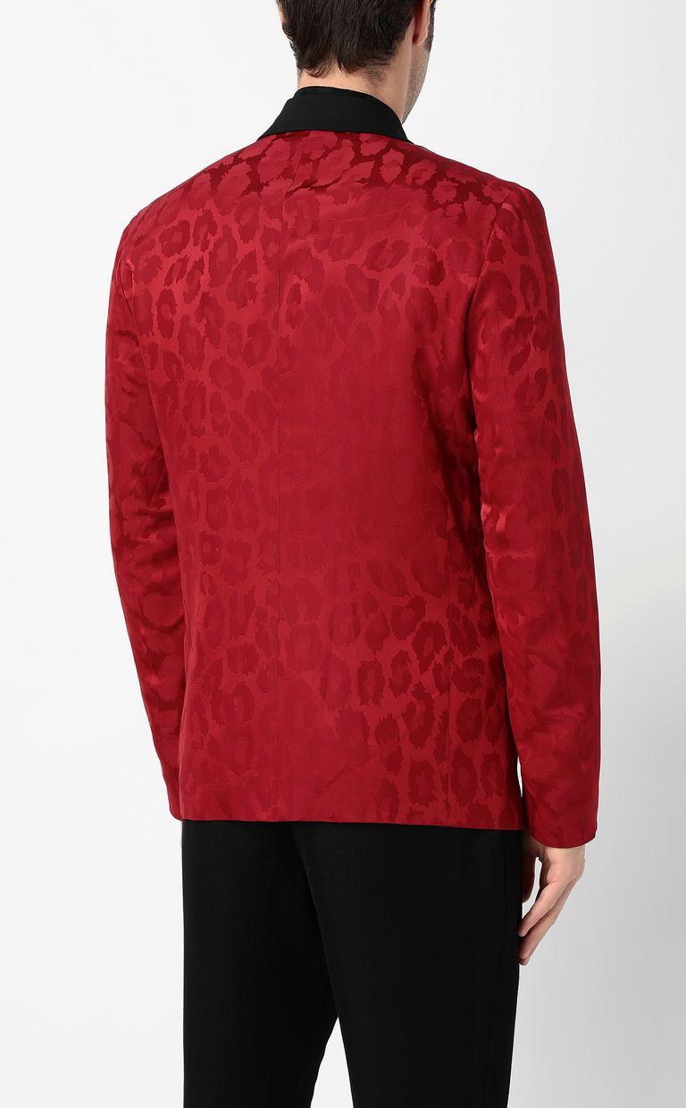 JUST CAVALLI Leopard-spot jacket Blazer Man a