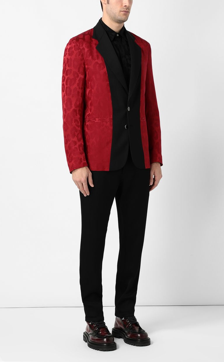 JUST CAVALLI Leopard-spot jacket Blazer Man d