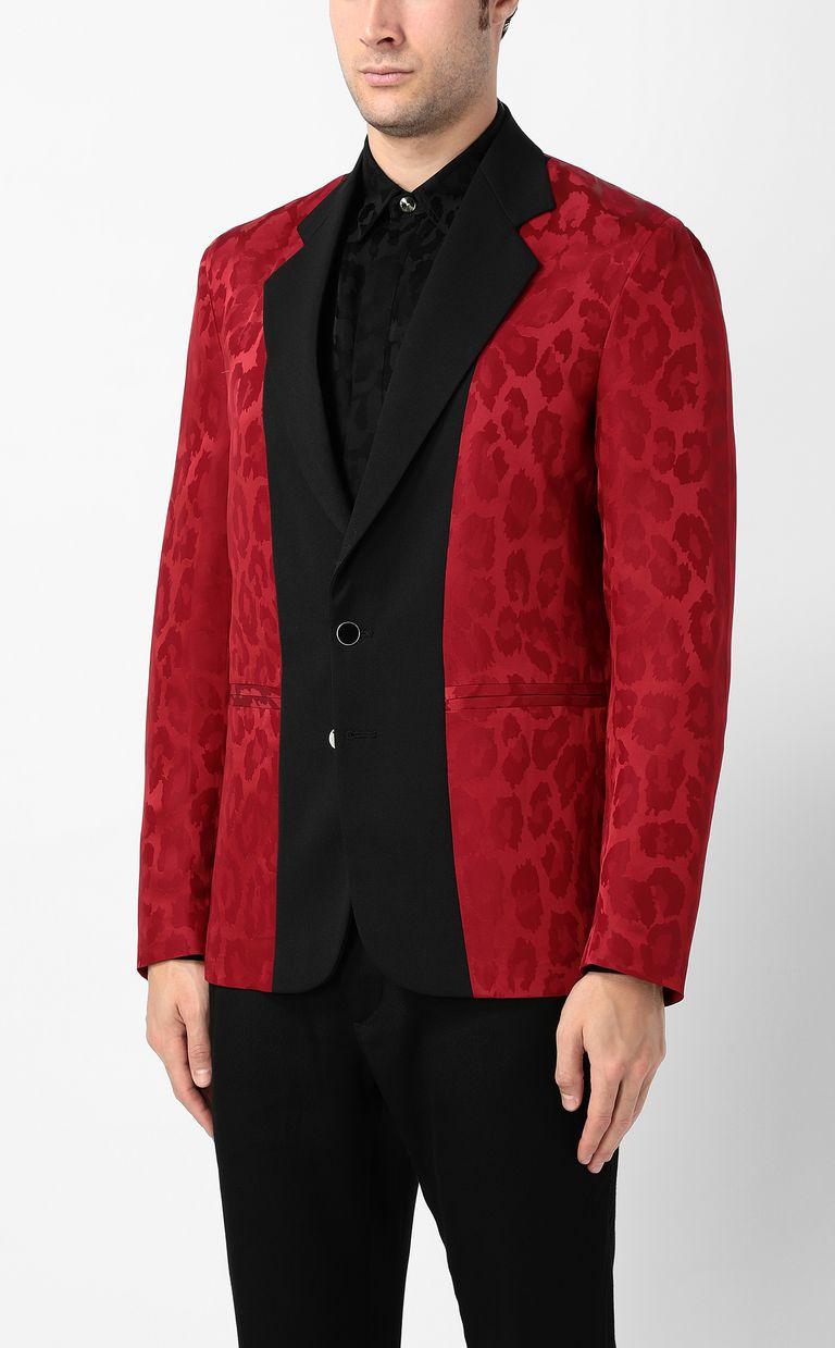 JUST CAVALLI Leopard-spot jacket Blazer Man r