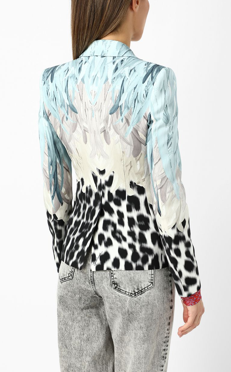 JUST CAVALLI Phoenix-and-leopard print jacket Blazer Woman a