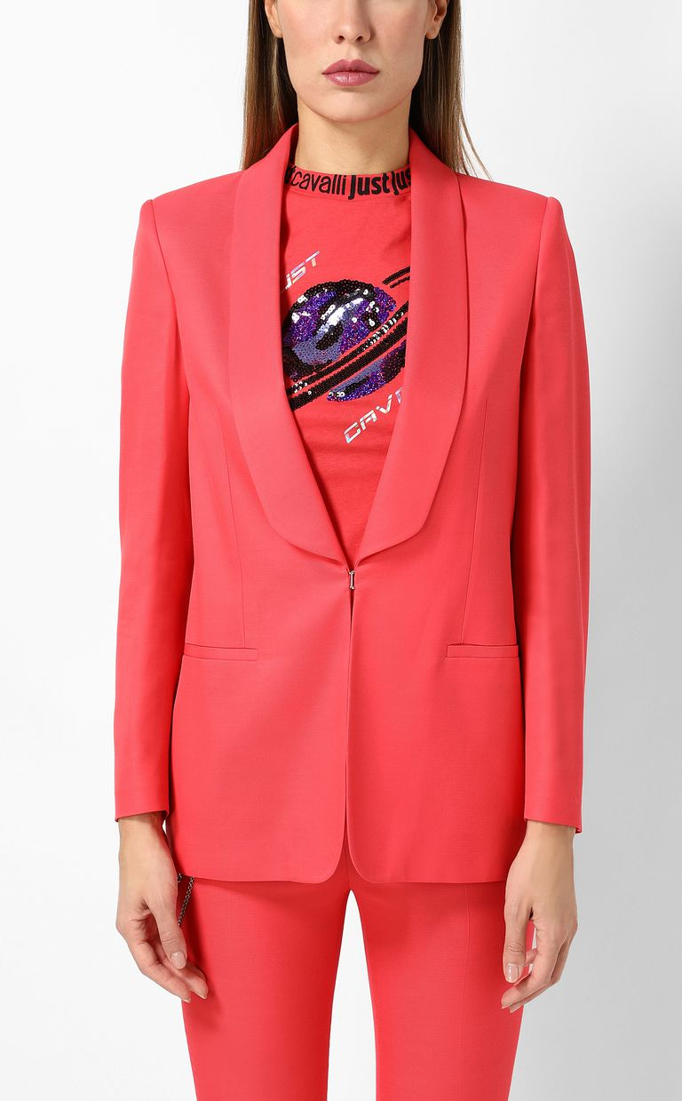 JUST CAVALLI Tuxedo jacket Blazer Woman r