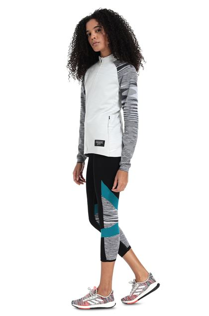MISSONI ADIDAS X MISSONI SWEATSHIRT Light grey Woman - Front