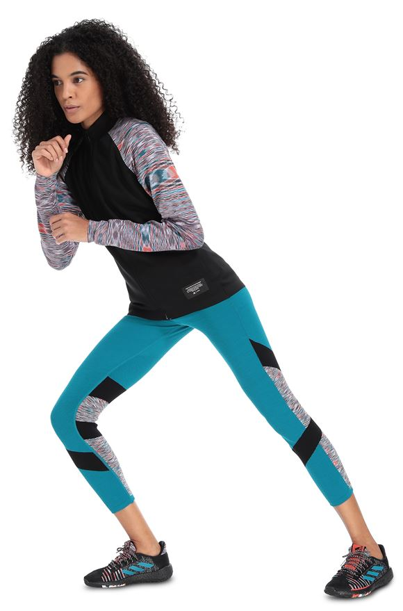 MISSONI ADIDAS X MISSONI SWEATSHIRT Black Woman