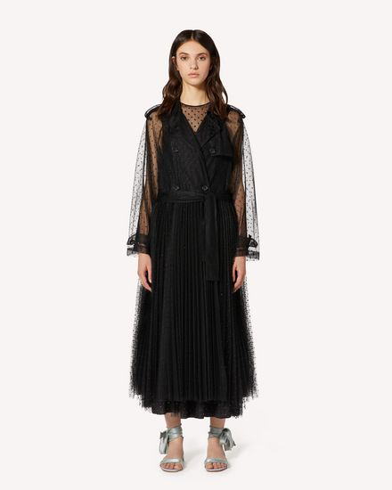 REDValentino Trench Woman TR3CHA30428 0NO f