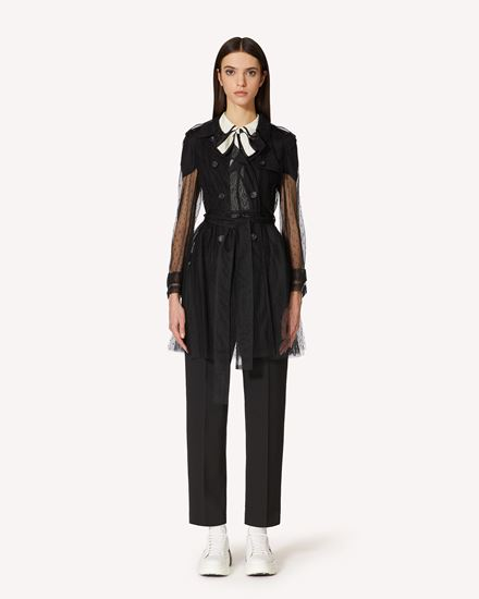 REDValentino Trench Woman TR3CHA451GK 0NO f