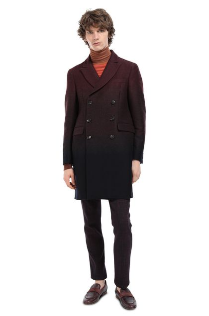 MISSONI Coat Maroon Man - Front