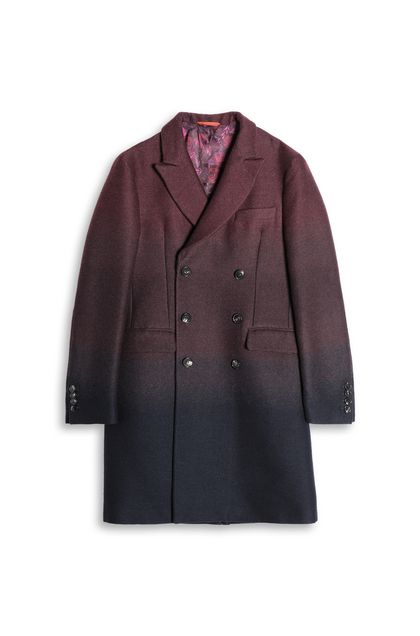 MISSONI Coat Maroon Man - Back