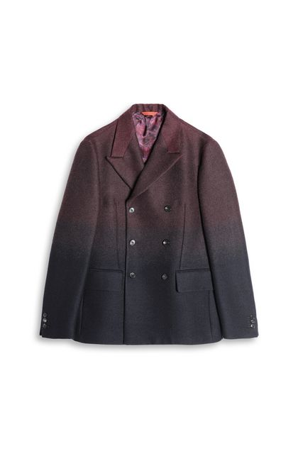 MISSONI Jacket Maroon Man - Back
