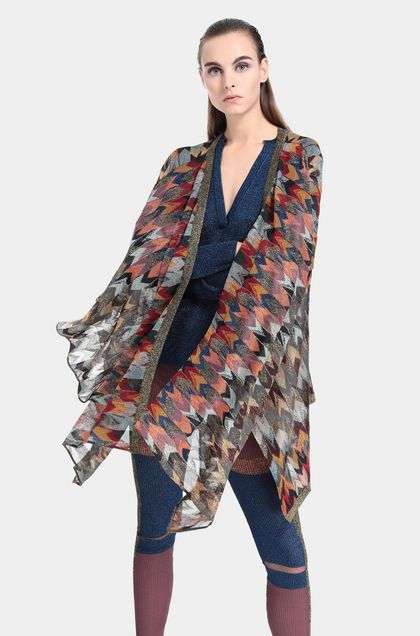 MISSONI Wrap Red Woman - Front