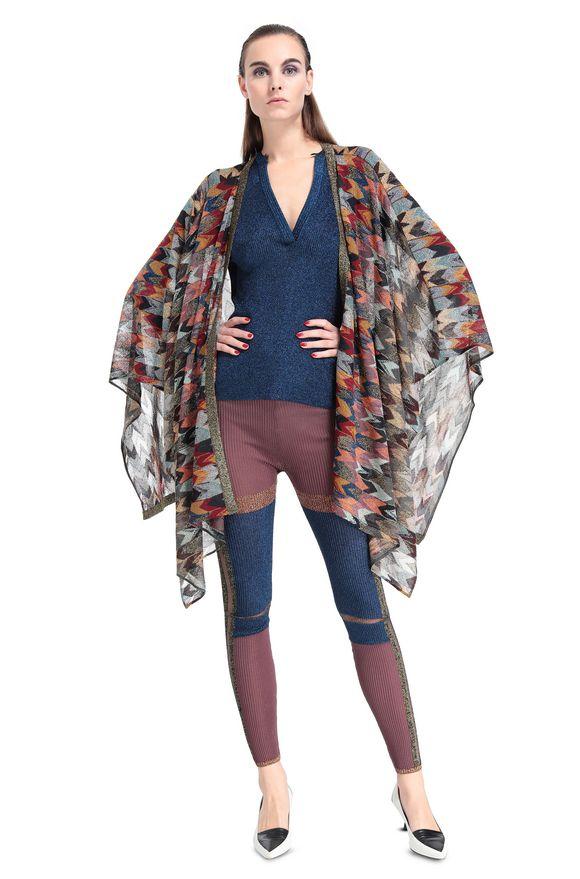 MISSONI Wrap Woman, Frontal view