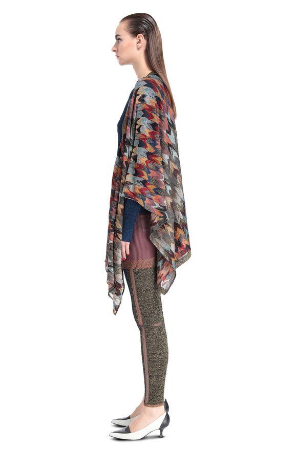 MISSONI Wrap Woman, Side view