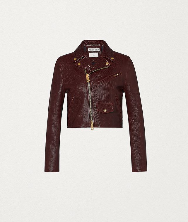 BOTTEGA VENETA JACKET IN LEATHER Outerwear and Jacket Woman fp