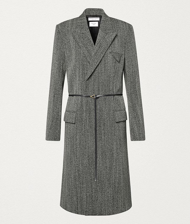 BOTTEGA VENETA COAT IN WOOL Outerwear and Jacket Woman fp