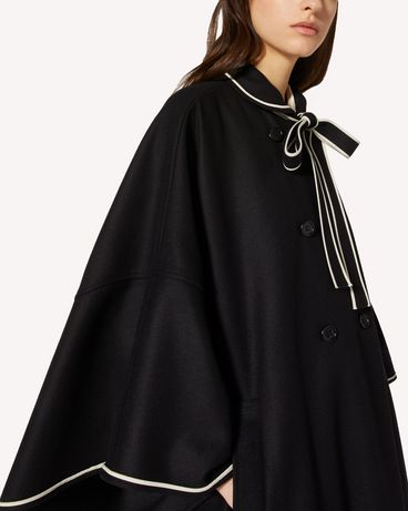 REDValentino TR3CGA400NA 0NO Cloak - Cape Woman e