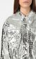 JUST CAVALLI Crocodile-skin-effect jacket Jacket Woman e