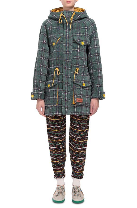 M MISSONI Parka Woman, Frontal view