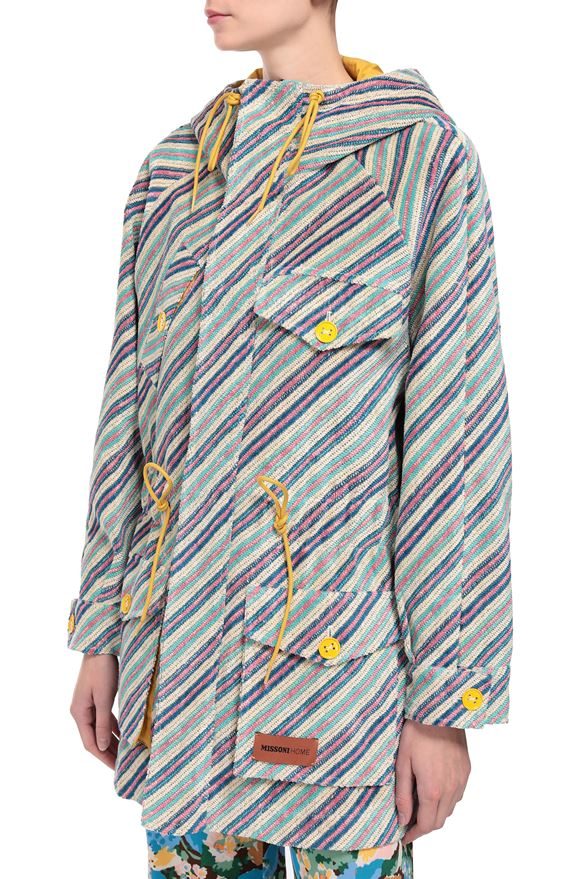 M MISSONI Parka Woman, Rear view