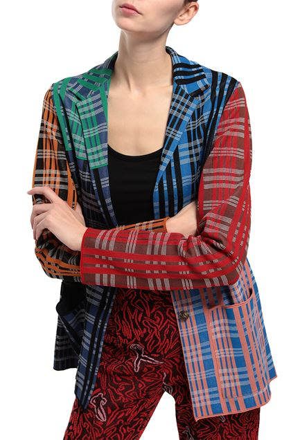 M MISSONI Jacket Blue Woman - Front