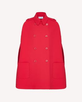 REDValentino Trench Woman TR3CHA30428 0NO a