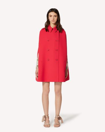 REDValentino TR3CGA451FR F58 Cloak - Cape Woman f