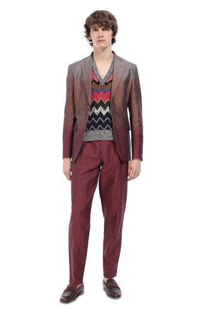 MISSONI Jacket Garnet Man - Front