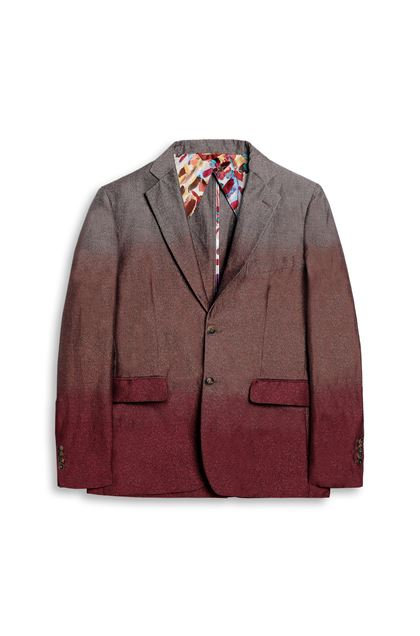 MISSONI Jacket Garnet Man - Back