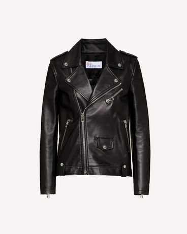REDValentino TR3NA02B4SS 0NO Jacket Woman a