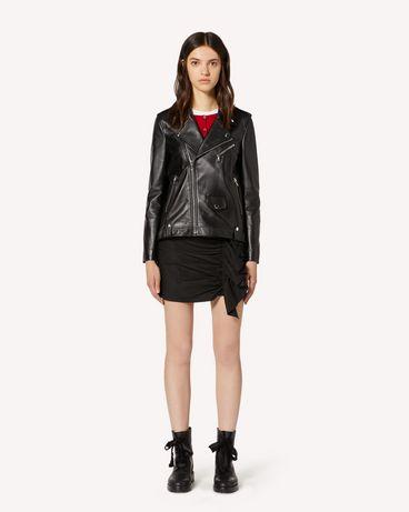 REDValentino TR3NA02B4SS 0NO Jacket Woman f