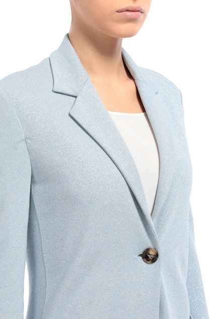 M MISSONI Jacket Sky blue Woman - Front