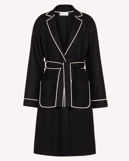 REDValentino Coat Woman TR3CAB550NA 0NO a