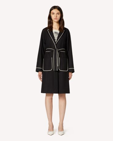 REDValentino TR3CAB550NA 0NO Coat Woman f