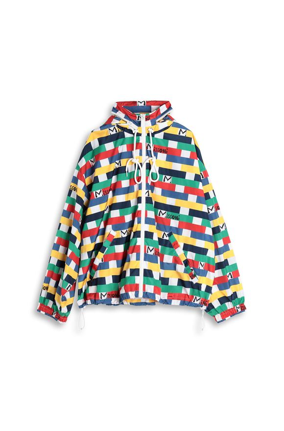M MISSONI Windbreaker Woman, Product view without model